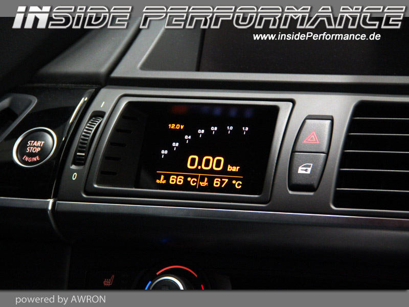 Data Display (vent gauges) X-Series BMW X5 / X6 and X5M / X6M