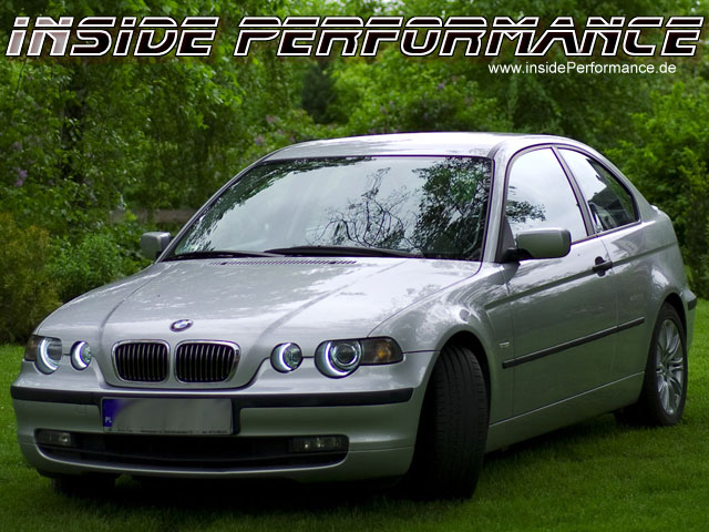 bmw e46 compact angel eyes. Black Bedroom Furniture Sets. Home Design Ideas