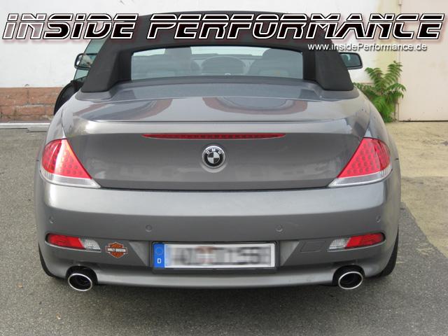 Edelstahl Sport Endschalldämpfer (ESD) - BMW E63/E64 645ci 2x1-Rohr