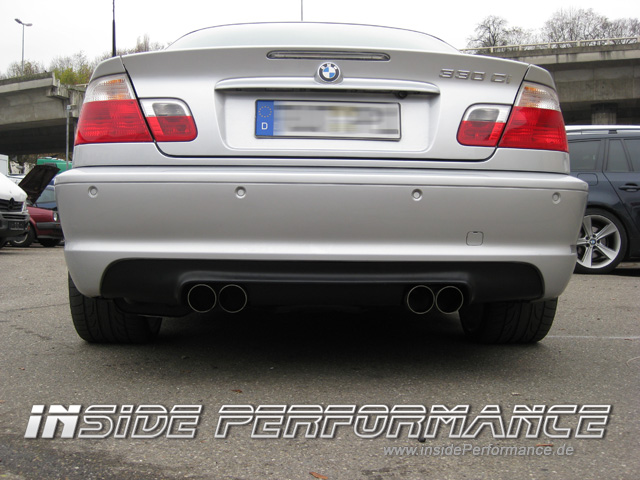 M3 CSL-Look Heckdiffusor - www.insidePerformance.de