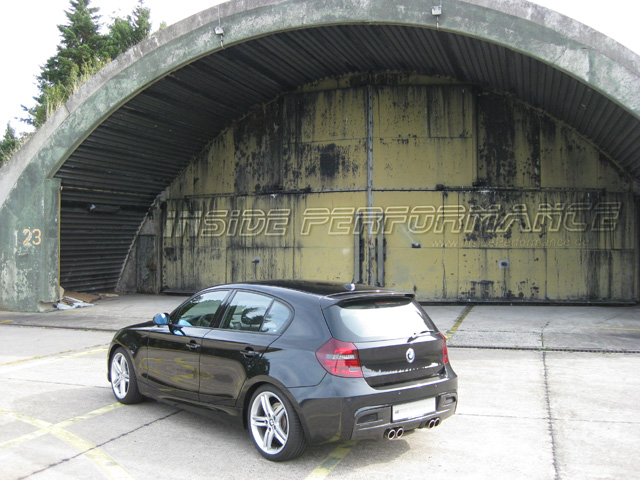 BMW E81 /E87 M1-Look Auspuffanlage 4-Rohr quad exhaust - insidePerformance