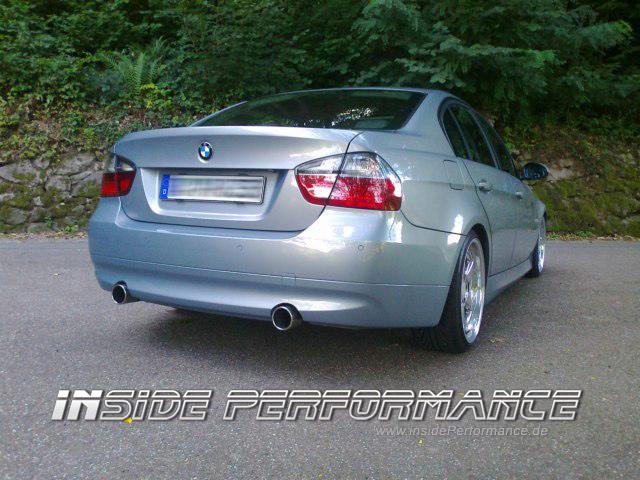 BMW E90-E93 335i-Look Endschalldämpfer