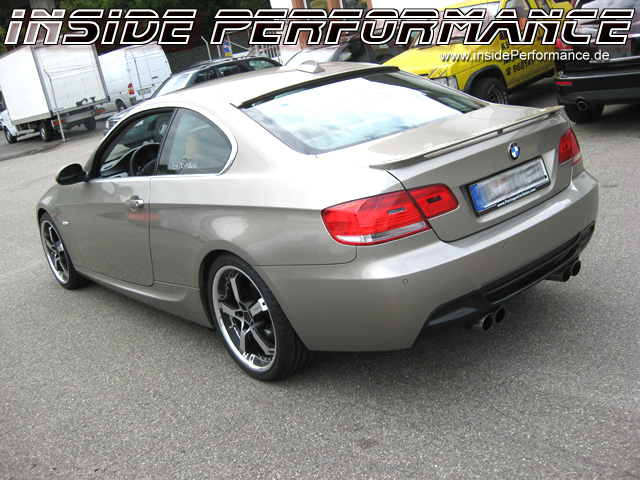 3 Series Bmw E90 E91 E92 E93 4 Tip M3 Look Quad Custom Exhaust