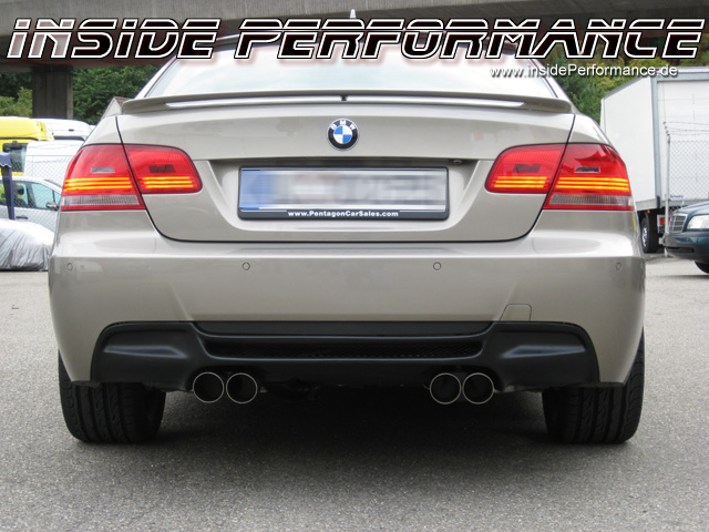 BMW E92 Coupe M3-Look Endschalldämpfer