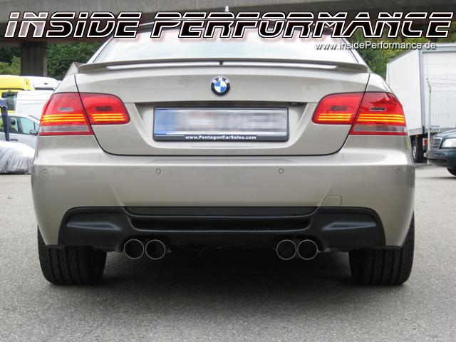 BMW E92 Coupe M3-Look Endschalldämpfer