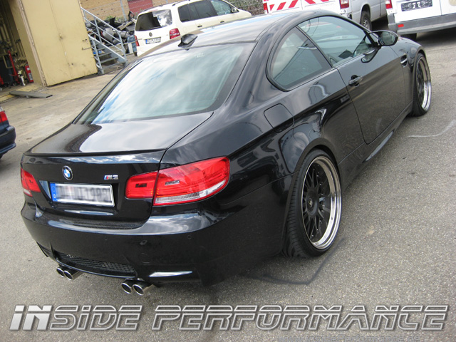 3 series bmw e90 e92 e93 m3 4 tip performance quad custom exhaust. Black Bedroom Furniture Sets. Home Design Ideas
