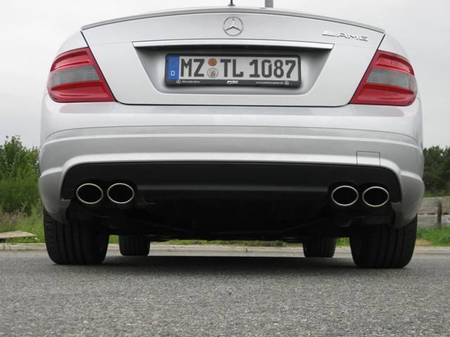 Mercedes-Benz W204 4-Rohr AMG-Look Auspuff
