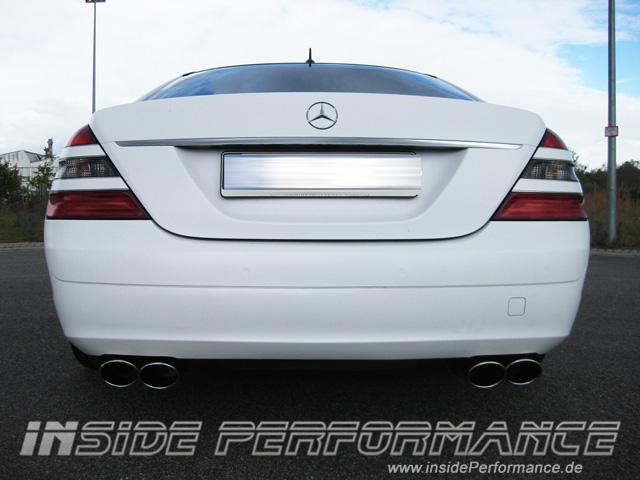 Mercedes-Benz W221 4-Rohr AMG-Look Auspuff