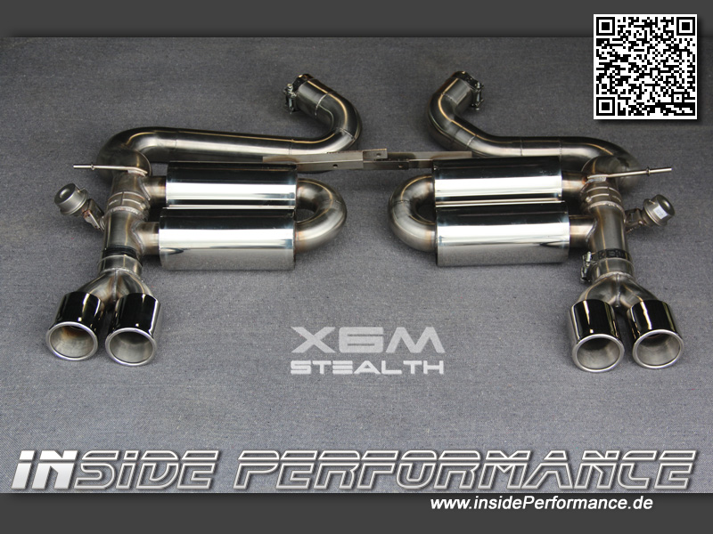 X6 Bmw X6m X5m Flap Controled Sound Exhaust Stealth