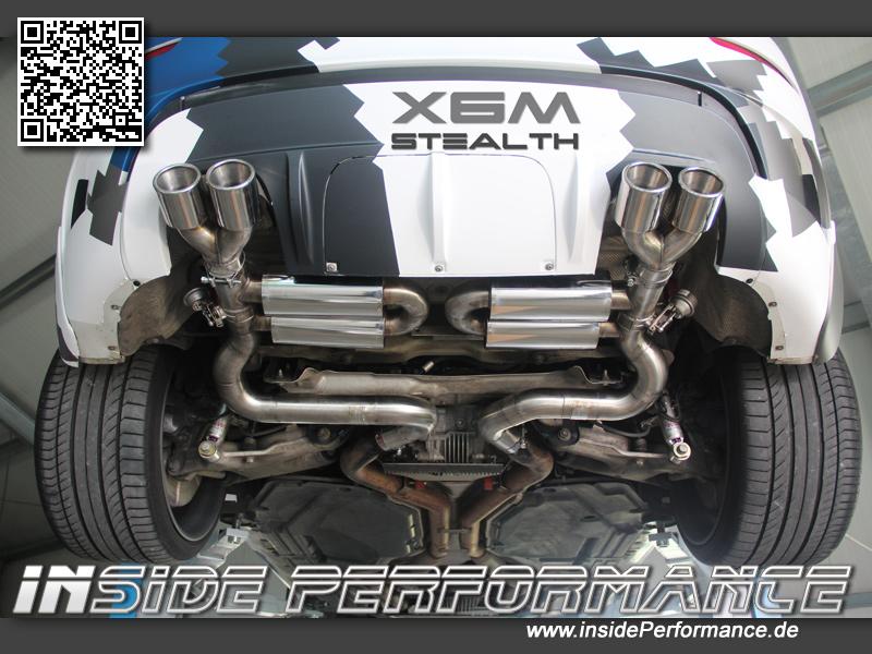 X6 Bmw X6m X5m Klappen Auspuffanlage Stealth