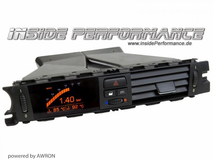 Data Display (vent gauges) for 3-Series BMW E90 E91 E92 E93 and M3