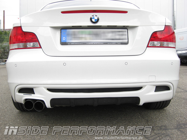 BMW E82 /E88 Performance Diffusor Partly-Carbon insidePerformance