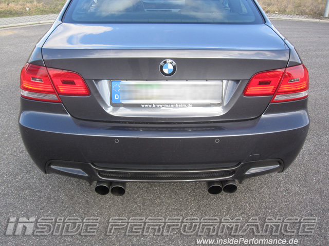 BMW E92 Coupe M3-Look Diffusor Carbon