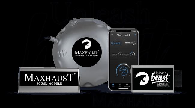 maxhaust komplett-set Active Sound Nachrüstung AMG