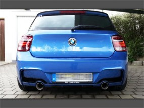 1er BMW F20/F21 2x1-Rohr M135i-Look Anlage