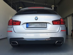 5er BMW F10 / F11 - 550i / M550d Auspuff-Look