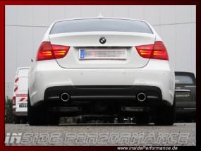 3er BMW E90/E91/E92/E93 (außer 335) 2x1-Rohr 335i-Look Anlage