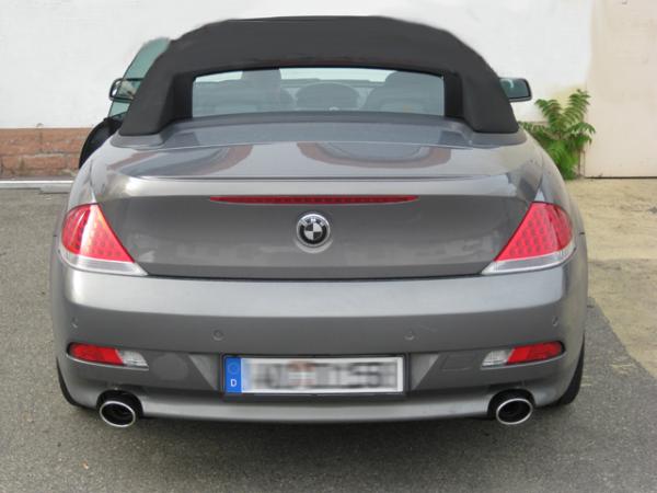 6er BMW E63 / E64 - Active Sound für alle Diesel