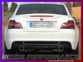 1er BMW E82/E88 2x1-Rohr M135i-Look / 335i-Look Anlage