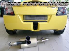 Opel Speedster 2-Rohr Auspuff