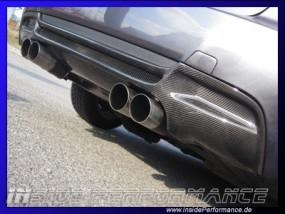 3er BMW E92/E93 M3-Look Heck-Diffusor Carbon