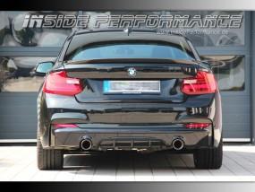 2er BMW F22 / F23 2x1-Rohr M240i/M235i-Look Anlage