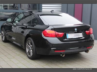 Sportauspuff für 4er BMW F36 Gran Coupe 2x1-Rohr (opt. als Klappenauspuff)