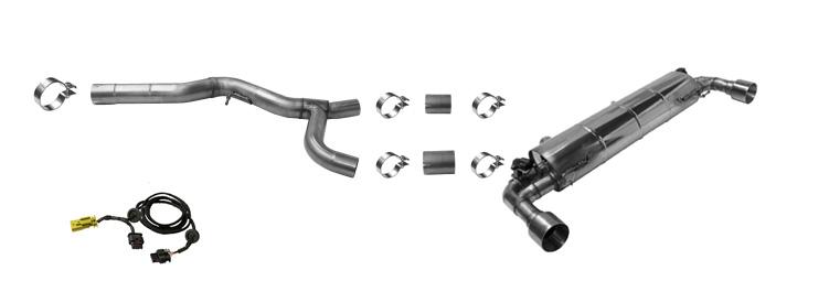 Klappenauspuff-BMW-G20-G21-330i-320i-Komplettanlage-Komponenten