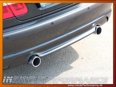 3er BMW E46 335i-Look Heck-Diffusor Kunststoff