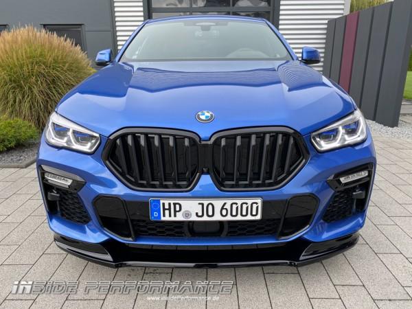Frontlippe / Frontspoiler / Splitter für BMW X6 G06 und BMW X5 G05 - Performance