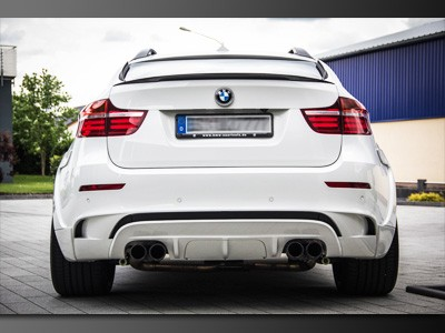BMW X6M STEALTH White Shark