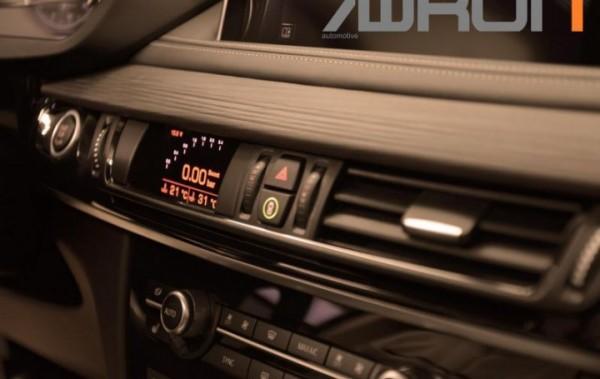 Datendisplay für BMW X5 / X6 F15 F16 und X5M / X6M