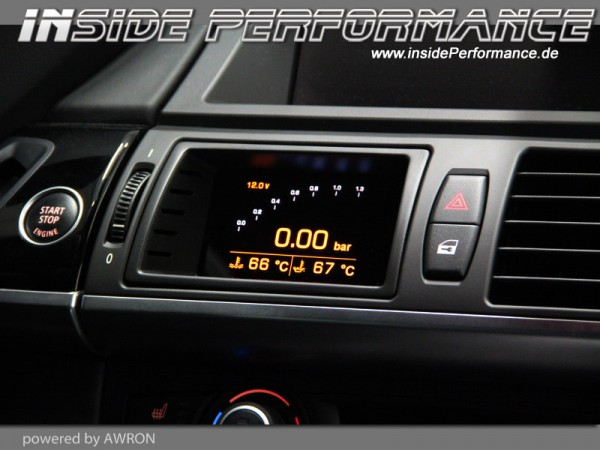 Data Display (vent gauges) for X-Series BMW X5 / X6 and X5M / X6M (E70/E71)