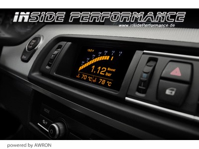 Data Display (vent gauges) for 5-Series BMW F10 F11 and M5