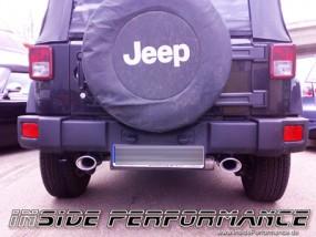 Jeep Wrangler Typ JK 2-Rohr rechts/links Auspuff