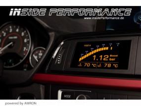 Datendisplay 3er BMW F30 F31 und M3 (opt. mit Klappensteuerung)