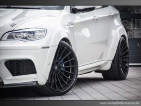 BMW X6M - Alufelgen - Komplettradsatz 22