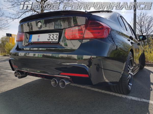 Sportauspuff für 3er BMW F30 / F31 4-Rohr (opt. als Klappenauspuff)