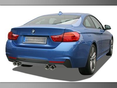 Sportauspuff für 4er BMW F32 / F33 / F36 4-Rohr (opt. als Klappenauspuff)