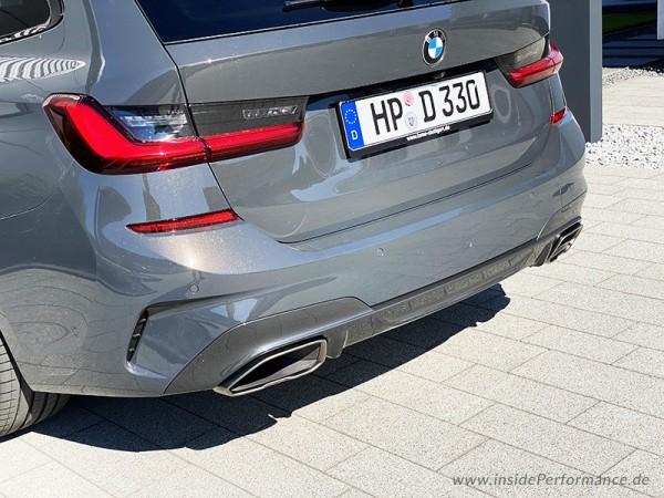 Klappenauspuff für 3er BMW G20 / G21 (320i / 330i) für M340i Endrohre