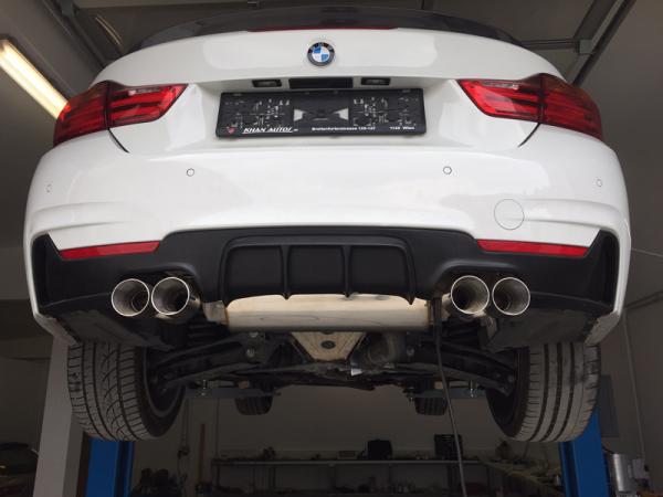 Rear Diffusor for 4 series BMW F32/F33/F36 - Performance-Look