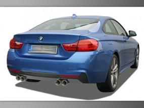 4er BMW F32 / F33 / F36 4-Rohr M4-Look Anlage