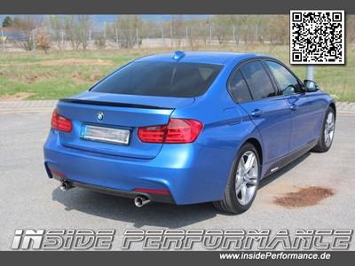 Sportauspuff für 3er BMW F30 / F31 2x1-Rohr im Performance-Look