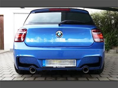 Sportauspuff für 1er BMW F20/F21 2x1-Rohr im Performance-Look