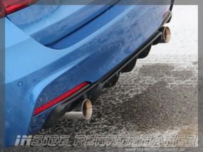 3er BMW F30/F31 335i-Performance Heckblende / Diffusor - Carbon