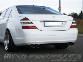 Mercedes-Benz W221 (S-Klasse) 4-Rohr AMG-Look Auspuff