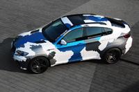 BMW X6M Stealth pixelcamo