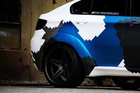 BMW X6M Stealth mit Jet - Camouflage nato